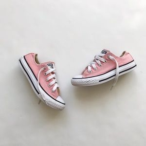 Converse pink all star low top sneaker GUC size 11